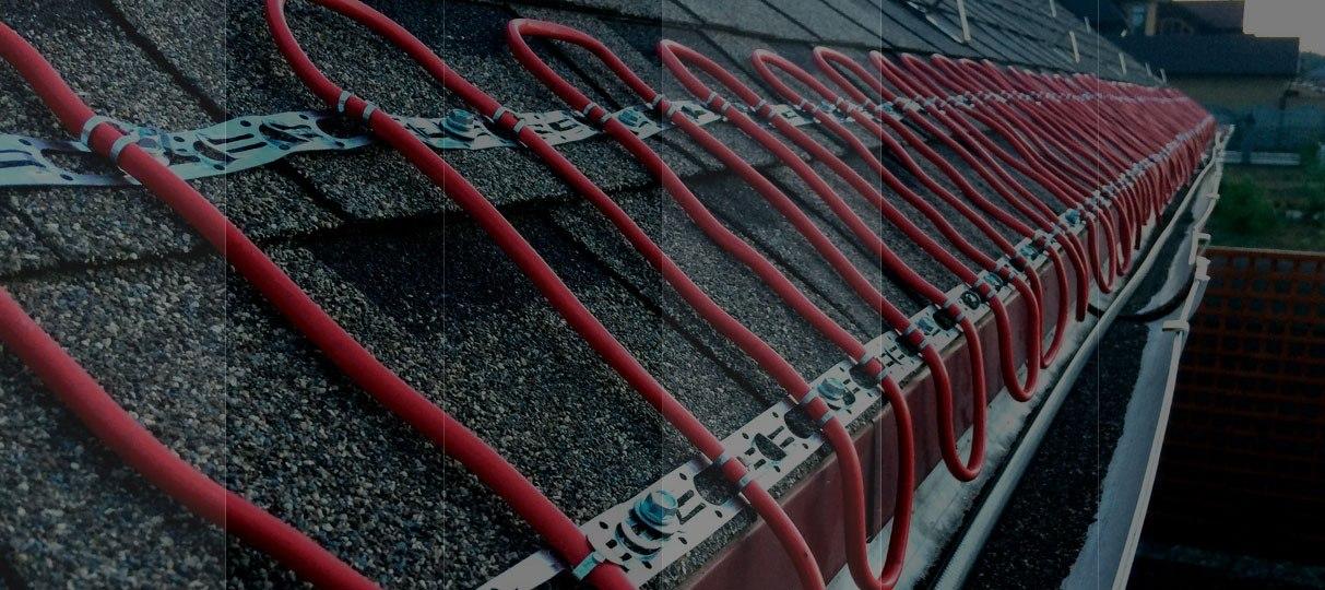 Система антиобледенения крыш домов
