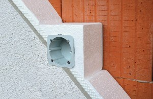 Электромонтажная коробка KOPOS TEZ для утепленных фасадов