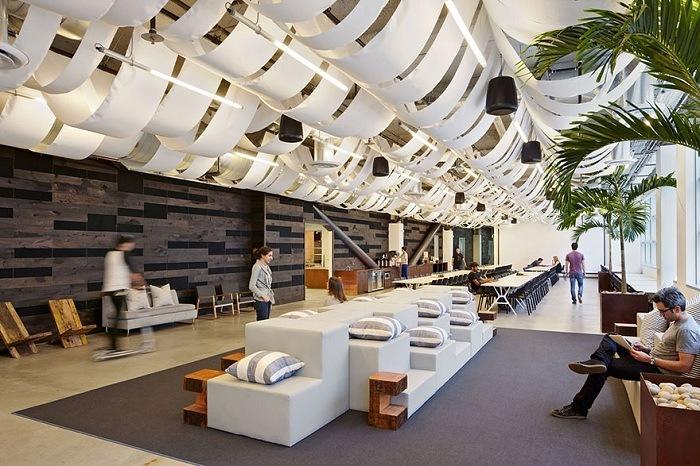 Офисное помещение с планировкой Open Space