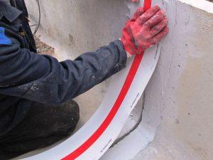 Проверка и необходимый ремонт стен и гидроизоляция стыков