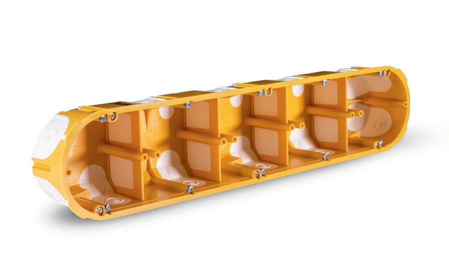 KPL 64-50/5LD — коробка установочная с герметичными вводами на 5 постов