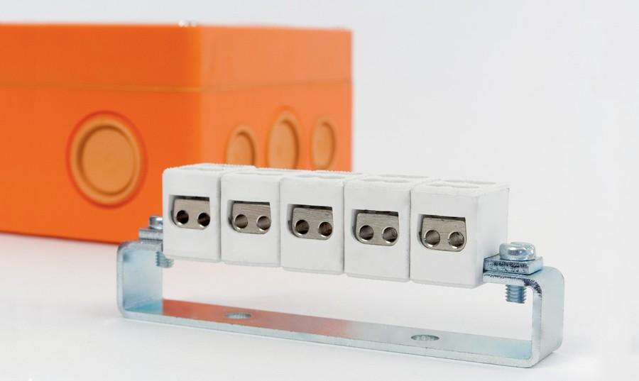 Огнестойкая электромонтажная распределительная коробка серии KSK